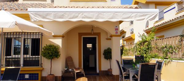 Resale Semi Detached Villa in la Dehesa Campoamor Costa Blanca. All luxury of details