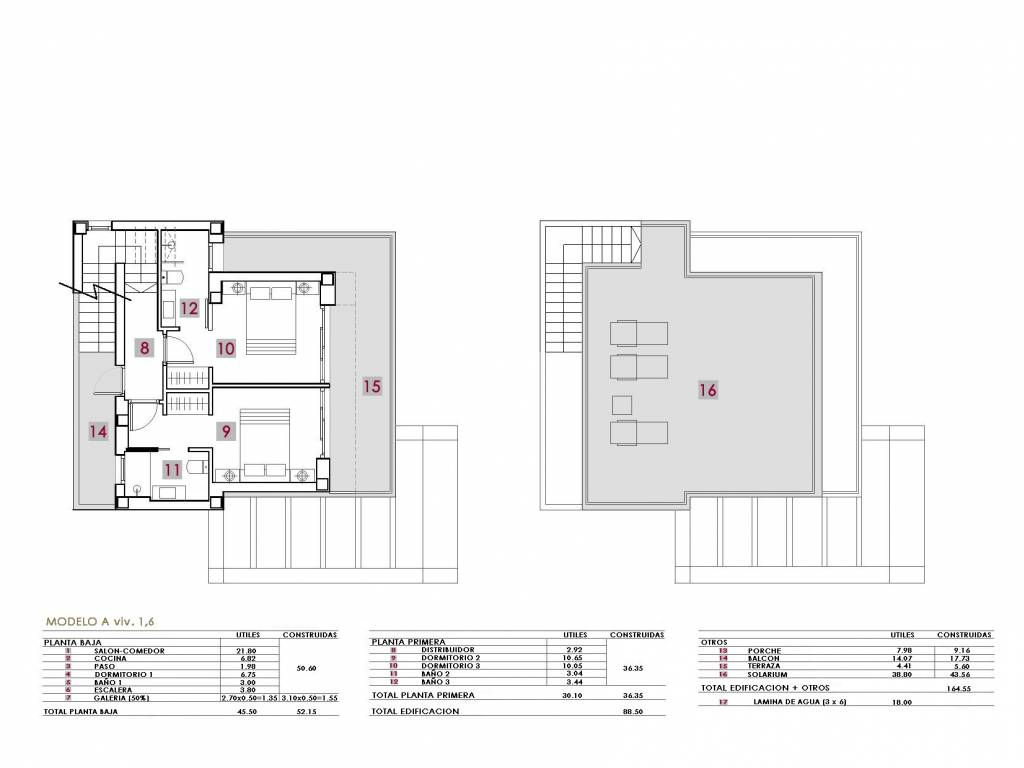 New build - Villa - El Galan, Alicante
